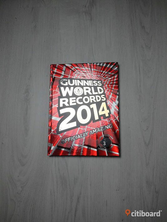 GUINESS WORLD RECORDS 2014 Skurup
