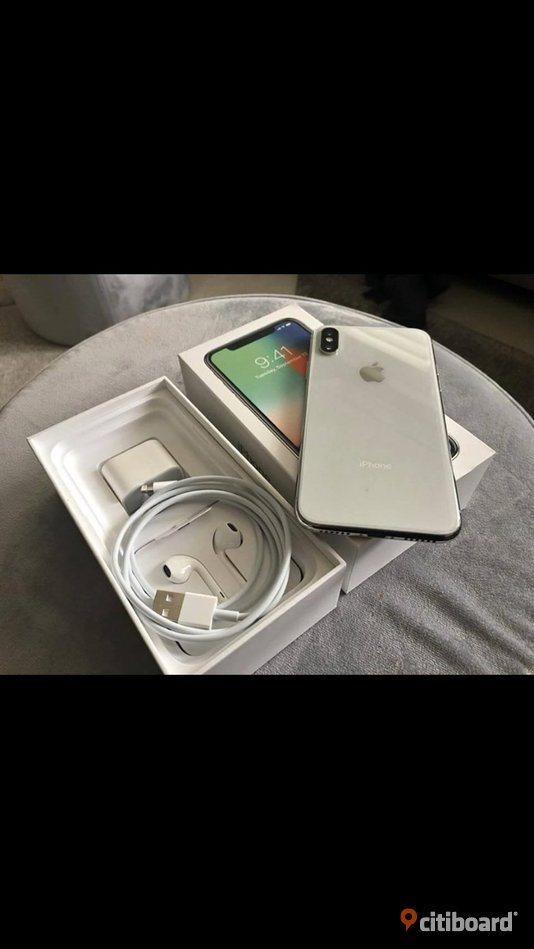 Iphone x 256gb silver Vadstena