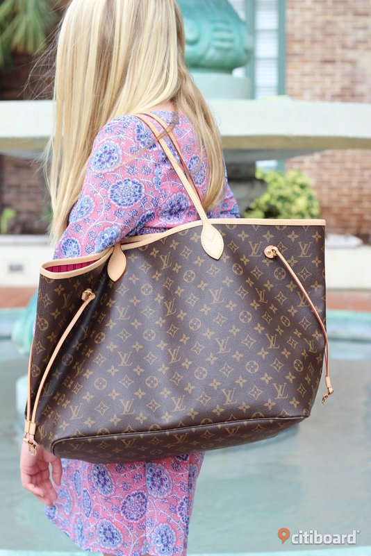 Louis Vuitton Neverfull Shopping Bag Väska  Örebro
