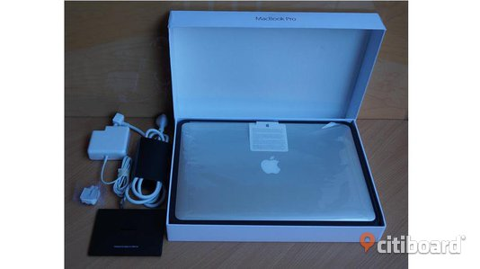 Apple MacBook Pro 15,4 '' 2, 8GHz 16Gb med Applecare Stockholm Sälj