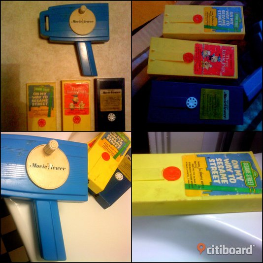 70-talet Fisher-Price Toys (Movie Viewer) Malmö