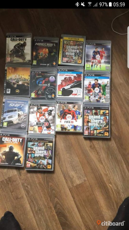 PlayStation 3 inkl 14 spel