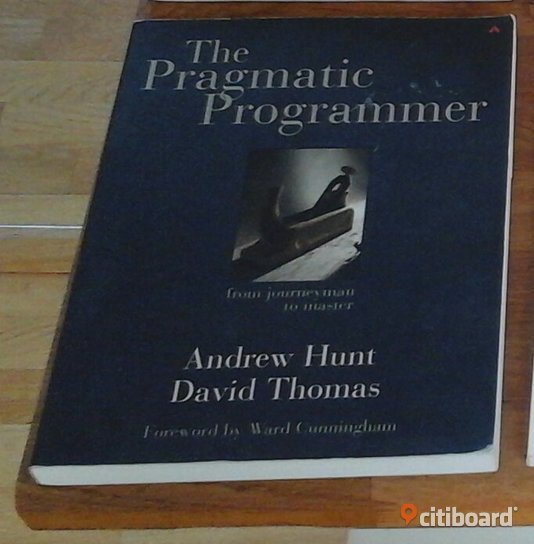 The Pragmatic Programmer: From Journeyman to Master av Andrew Hunt, David Thomas Solna Sälj