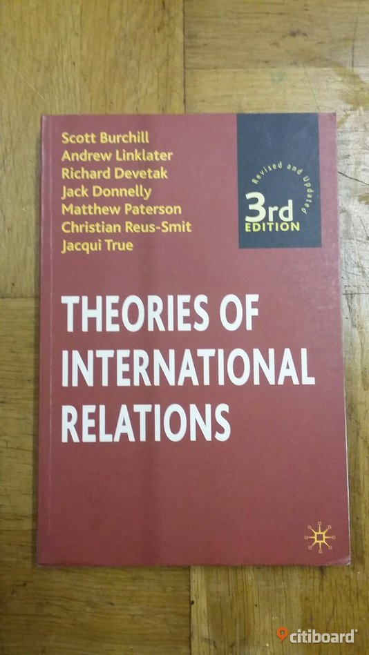 Theories of international relations Fritid & Hobby Skåne Malmö