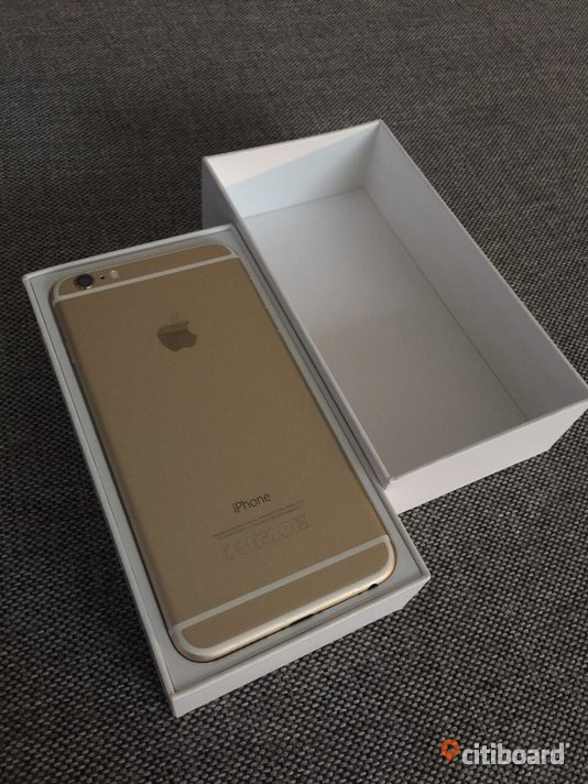 Iphone 6 plus 64GB Guld Borås / Mark / Bollebygd