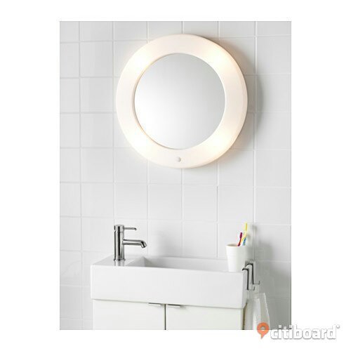 Rund spegel for Illuminated mirrors ikea