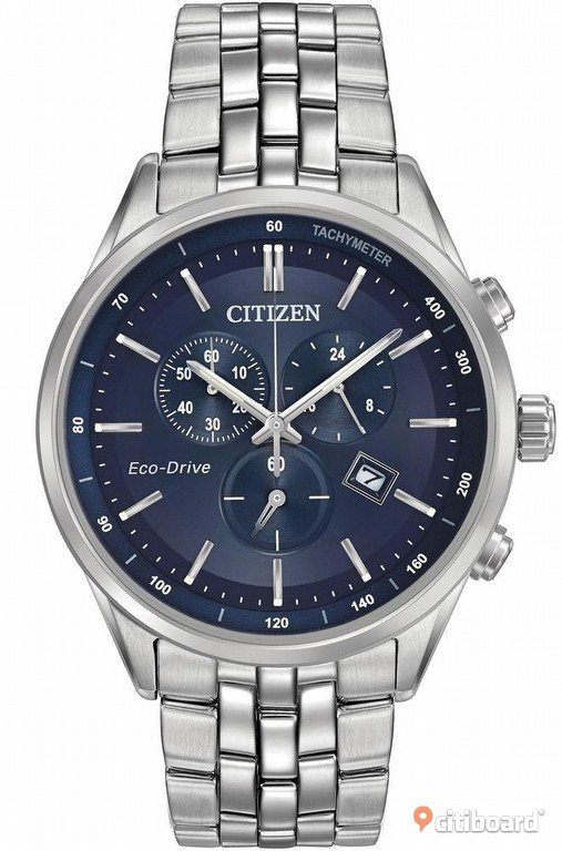 Citizen Eco Drive Safirglas  Mode Nordmaling