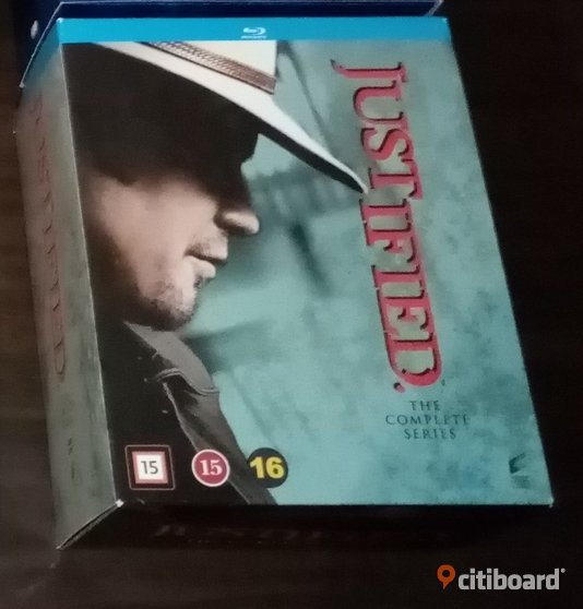 Justified Bluray Stockholm