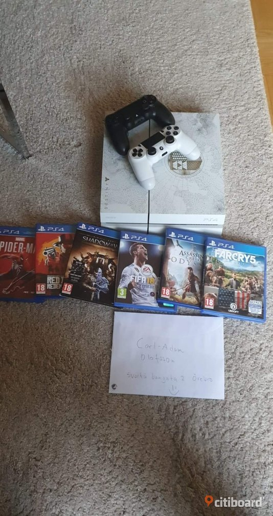 Ps4 Limited Edition Örebro Örebro