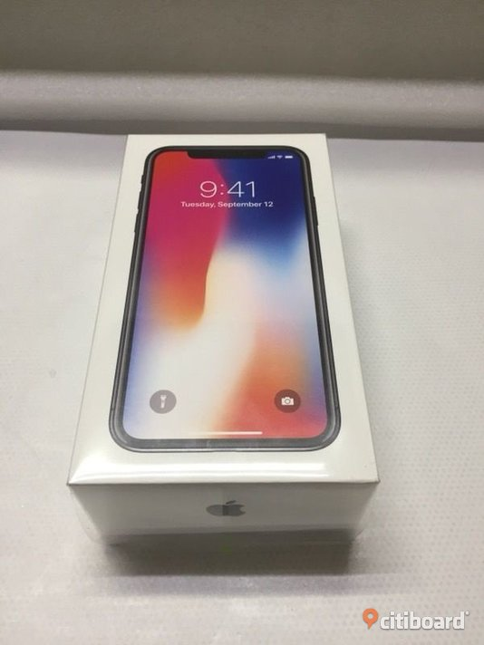 IPhone X 64 gb Space Grey Malmö