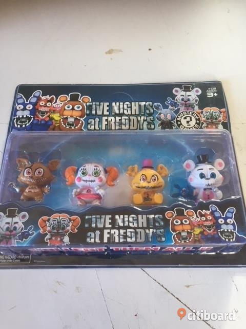 FIVE NIGHTS AT FREDDYS 4 ST FIGURER 7 CM Leksaker Uppsala