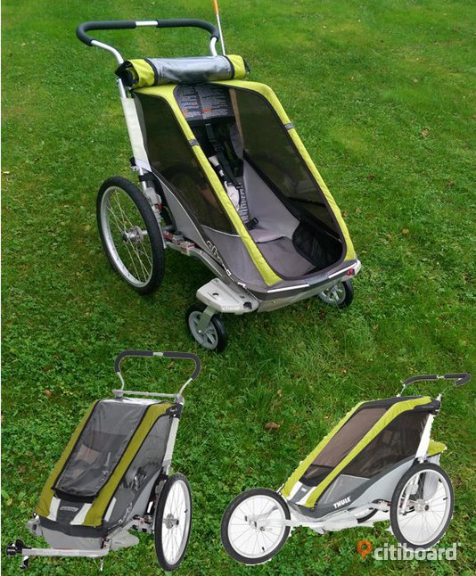 thule chariot cougar 1 cykelvagn ume citiboard. Black Bedroom Furniture Sets. Home Design Ideas