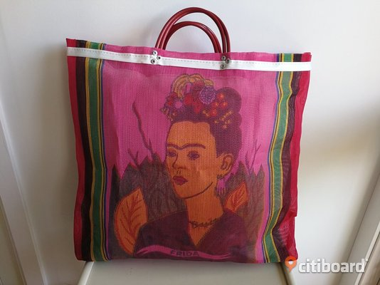 shoppingväska Frida Kahlo shoppingbag Stockholm