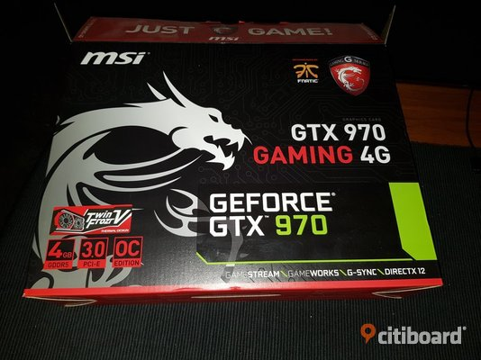 MSI GeForce GTX 970 Umeå