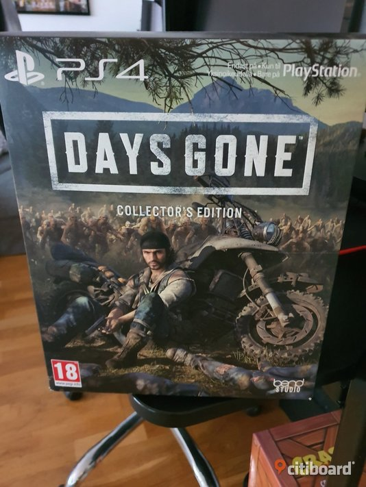 Days gone Collectors edition  Solna