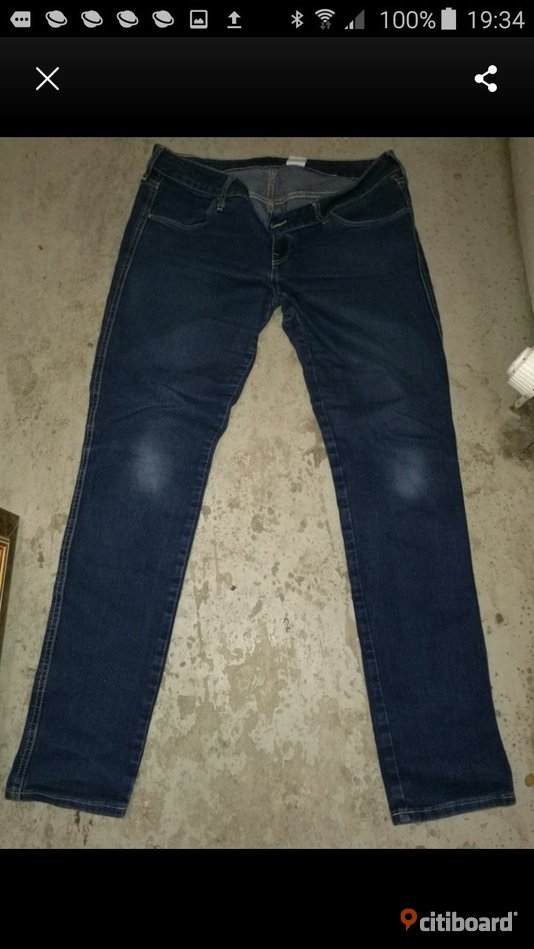 Jeans low wast 33/32 cn 165/84a Norrköping