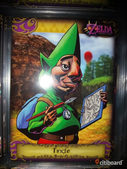 Zelda trading cards samlarkort 24. Tingle Halland Varberg