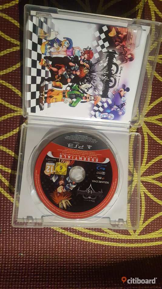 Kingdom hearts 1.5 HD remix playstation 3 Fritid & Hobby Borås / Mark / Bollebygd