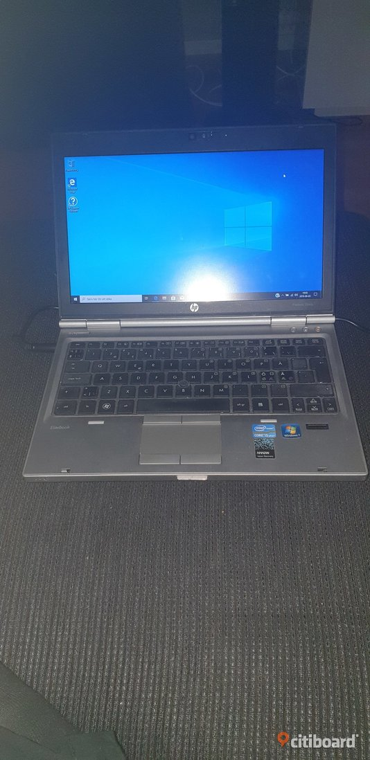 Elitebook 2560p 12.5 tum I5 (2520m 2.50ghz) 8gb ram  120gb ssd. Med Windows 10 pro   Strängnäs Sälj
