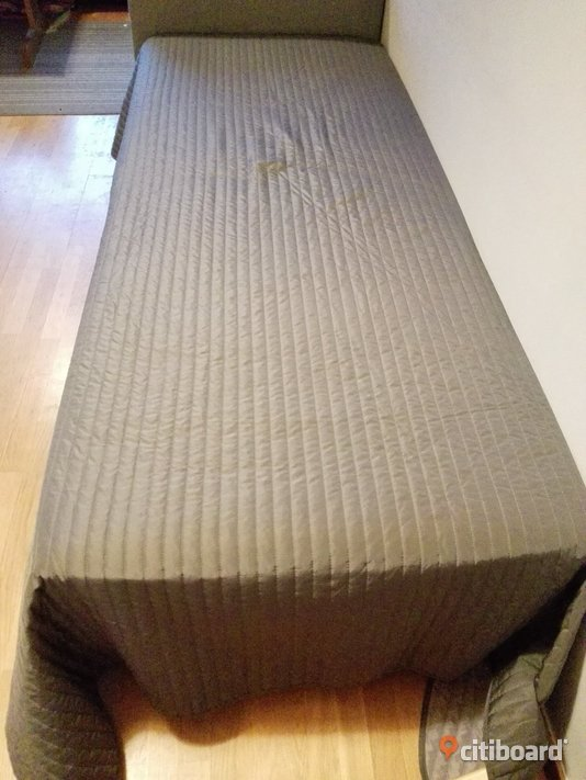 Single bed 200x80 cm including attached mattress  Umeå