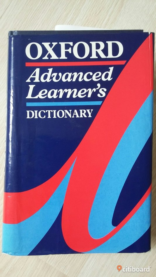Oxford Advanced Learners Dictionary  Västra Götaland Göteborg