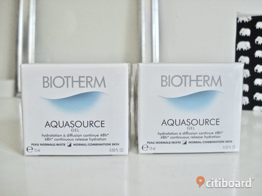 BIOTHERM - Aquasource Gel for Normal to Combination Skin! 2 st! Nya! Malmö