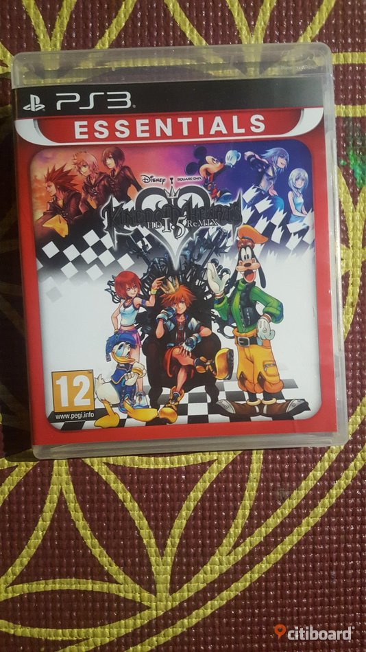 Kingdom hearts 1.5 HD remix playstation 3 Musik, Film & Spel Borås / Mark / Bollebygd