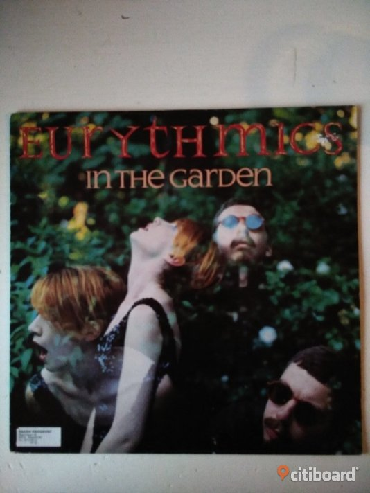 Eurythmics - In The Garden 1981, Vinyl, LP, Annie Lennox Fritid & Hobby Umeå