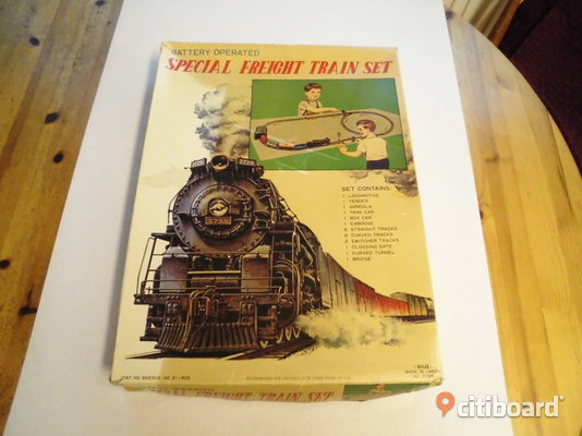 Haji. Special Freight Train Set. 1950-60's. Japan. Eslöv