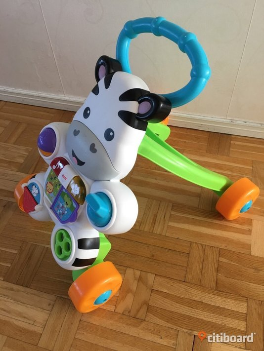 FISHER-PRICE Learn with Me zebra gåvagn