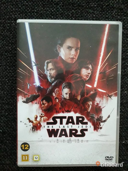 Star Wars 8 / The last Jedi (DVD) Södermanland Eskilstuna Sälj