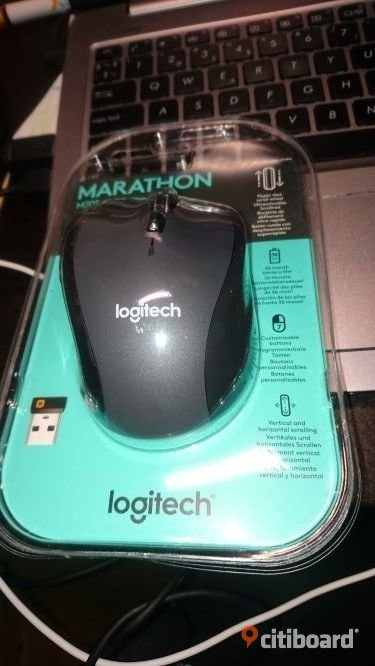 Logitech R400 Wireless Presenter with Laser Pointer incl. Batteries Black Elektronik Huddinge