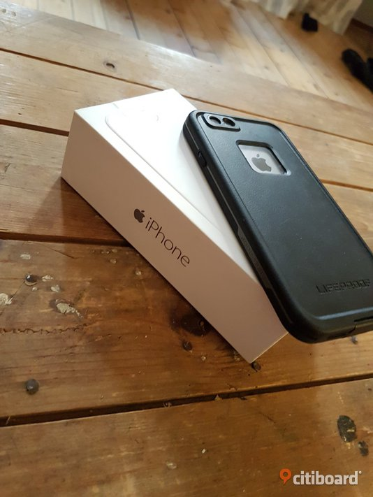 iPhone 6 Space Gray 64gb + Lifeproof skal Skåne Malmö Sälj