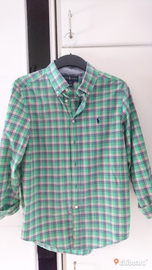 Ralph Lauren buttondown skjorta 37-38 (S) Solna