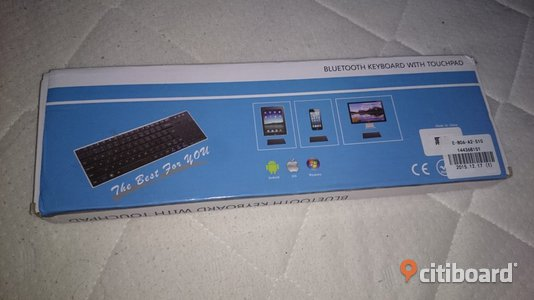 Slim Touch Mini Bluetooth V3.0 Touchpad Keyboard Lidköping