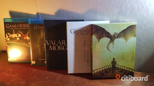 Game Of Thrones - Blu-ray samling Umeå