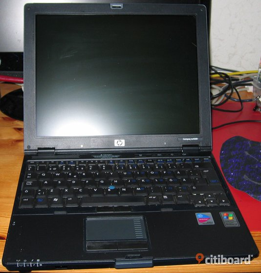Ultraportabel snabb laptop HP NC4200