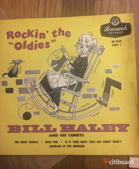 EP Vinyl Bill Haley: Rockin' the oldies Ystad