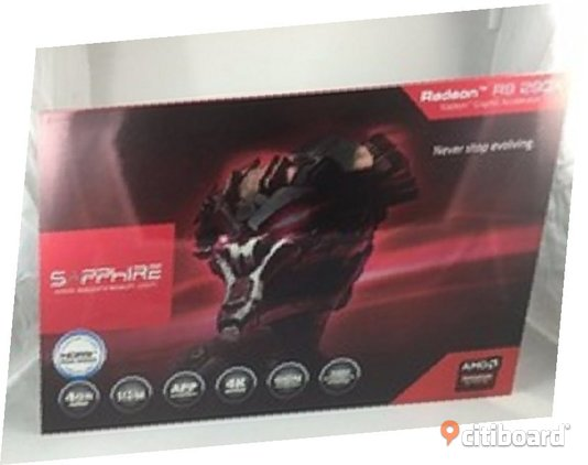 New Sapphire AMD Radeon R9 290 Nano 290X Graphic Card Halland Hylte