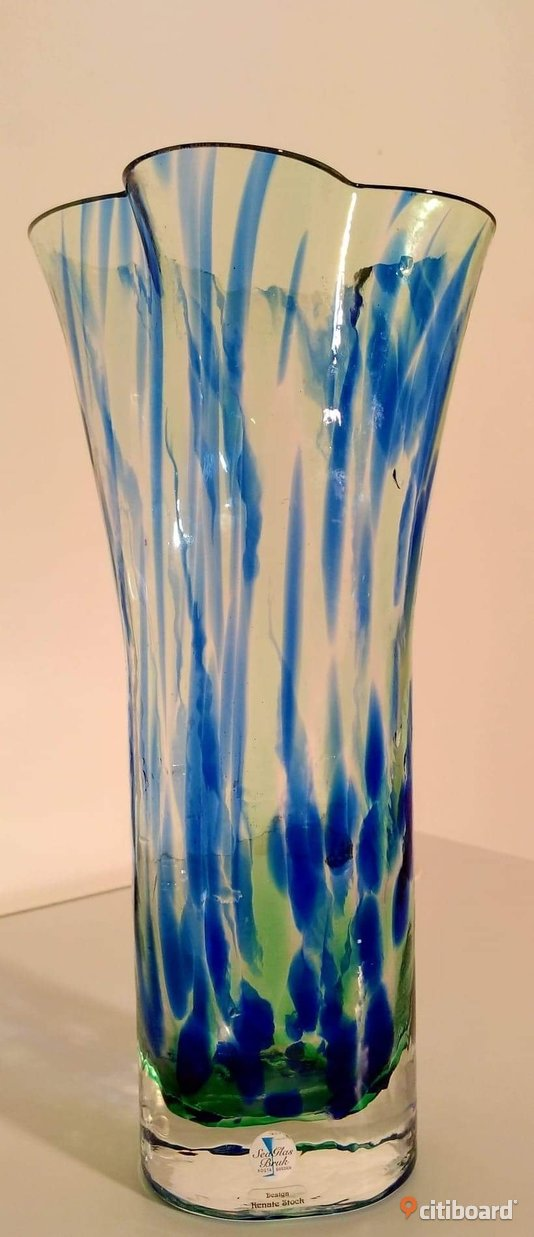 Vas, design: Renate Stock. Sea Glasbruk, Kosta Sweden.  Mora