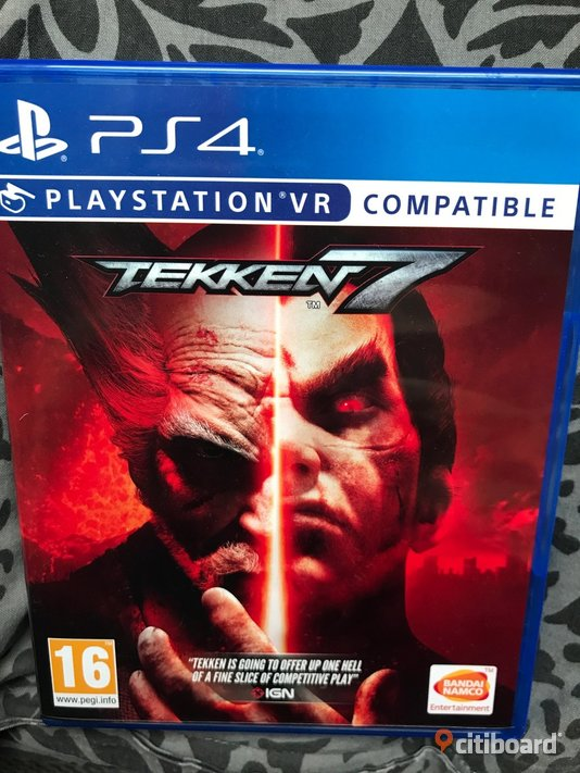 Playstation 4 Tekken 7 Mölndal