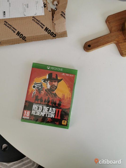 Red dead redemption 2 xbox one oöppnad Umeå