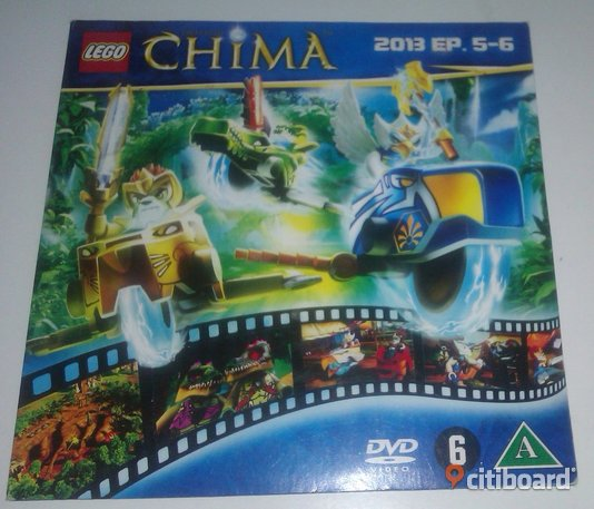 Lego - Legends of Chima - EP. 5-6 - DVD film Falun / Borlänge