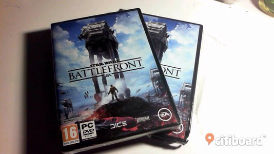 Star Wars BattleFront PC DVD