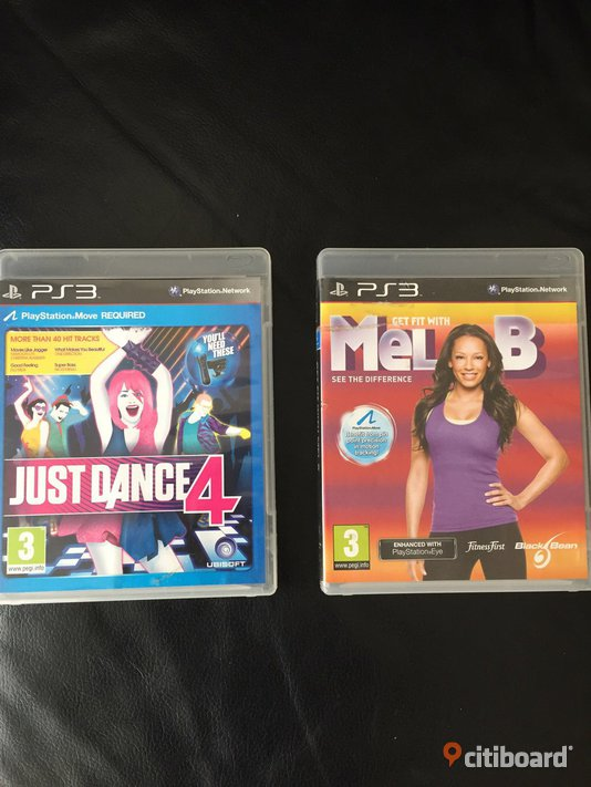 Just Dance 4 PS3 /Get Fit With Mel B PS3 Perstorp