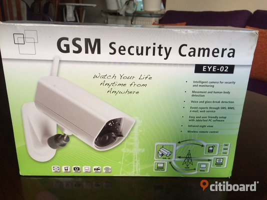 GSM Security Camera EYE