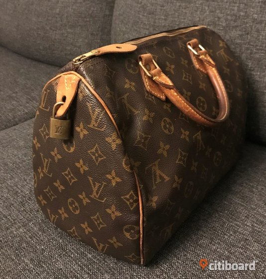 Louis Vuitton Speedy 30 Monogram Canvas Järfälla