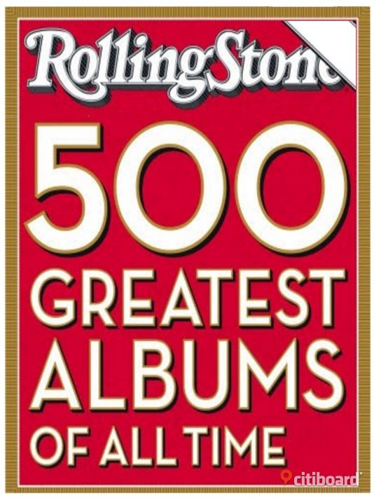 500 Greatest Albums of All Time Stockholm
