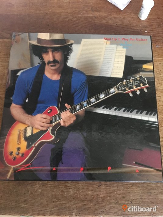 Frank Zappa Shut up n play your guitar Fritid & Hobby Västernorrland Sundsvall