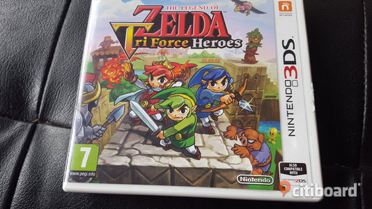 The Legend of Zelda: TriForce Heroes (Nintendo 3DS) Skövde